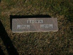 Julia <i>Boger</i> Brown