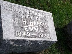 Madame Emma <i>Peek</i> Marantette