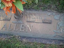 Maude M Allen
