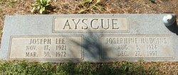 Josephine <i>Hudgins</i> Ayscue