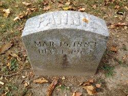 Fanny Elizabeth <i>Driscoll</i> Bartlett