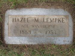 Hazel May <i>Washburne</i> Lempke