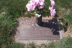 Hattie E Anderson