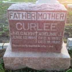 Adeline Josephine Josie <i>Mabry</i> Curlee