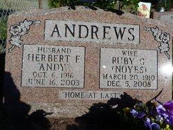 Ruby Glenice <i>Noyes</i> Andrews