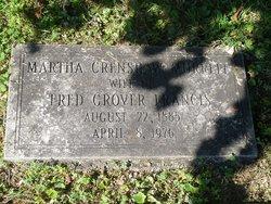 Martha Crenshaw <i>Murrell</i> Francis