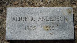 Alice R. Anderson