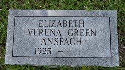 Elizabeth Verena <i>Green</i> Anspach