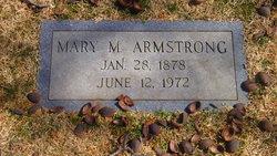 Mary <i>Marshall</i> Armstrong
