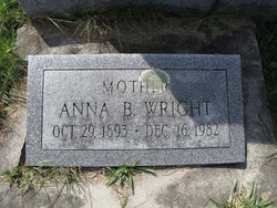 Anna B Wright