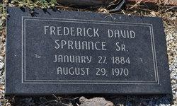Frederick David Spruance, Sr