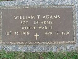 William T Adams