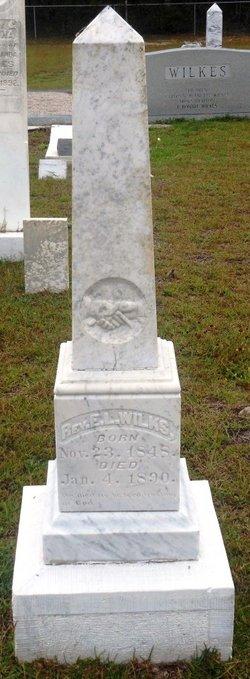 Rev E. L. Wilkes
