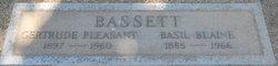 Gertrude <i>Pleasant</i> Bassett