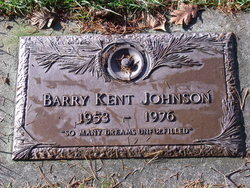 Barry Kent Johnson