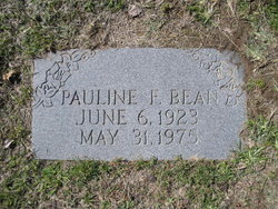 Pauline F. Bean