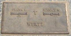 Bernice M Wertz