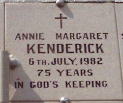Annie Margretha Maria <i>Lifgren</i> Kenderick