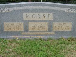 Mary <i>Tindall</i> Morse