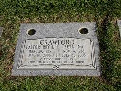 Pastor Roy Lawrence Crawford