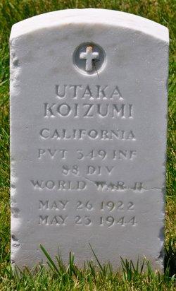 Pvt Utaka Koizumi