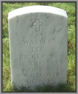 Walter Lee Bicker, Sr