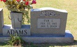 Eva <i>Landrum</i> Adams