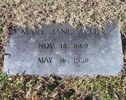 Mary Jane <i>Britton</i> Allen