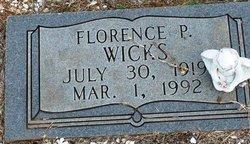 Florence Pauline <i>Sullivan</i> Wicks