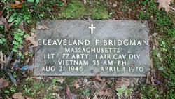 Cleaveland Floyd Bridgman