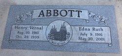 Edna Ruth <i>Bergman</i> Abbott