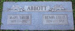 Mary Elizabeth <i>Smith</i> Abbott