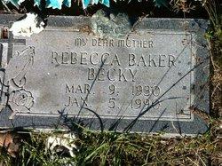 Rebecca Becky <i>Briones</i> Baker