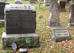Martha A <i>Smith</i> Lance