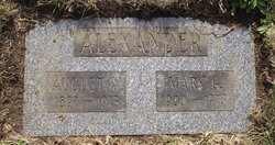 Mary G. <i>Osbrey</i> Alexander