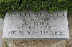 Beatrice <i>Morris</i> Alexander