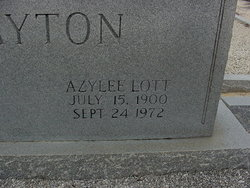 Azylee <i>Lott</i> Clayton