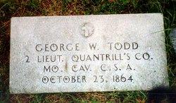 Lieut George W. Todd