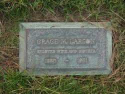 Grace Marie <i>Dunlap</i> Larson