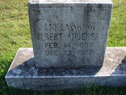 Anna <i>Garrett</i> Anderson