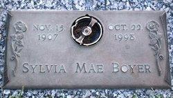 Sylvia Mae <i>Trone</i> Boyer