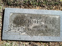 Mary Florrie <i>French</i> Hunt