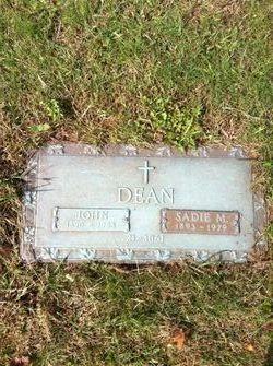 Sarah Mary Sadie <i>Griffin</i> Dean