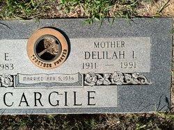 Deliah Irene Dee <i>Waggoner</i> Cargile