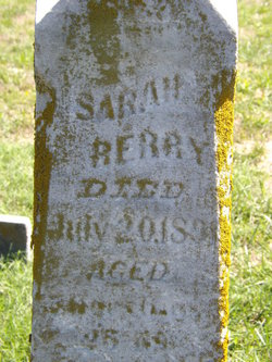 Sarah <i>Walls</i> Berry