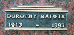 Dorothy Helen <i>Harris</i> Baiwir