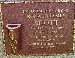 Ronald James ''Ron'' Scott
