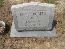 Margaret Leola <i>Rogers</i> Jones