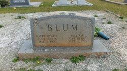 Mattie <i>Russell</i> Blum