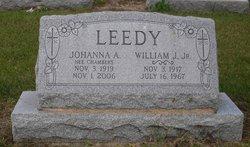 Johanna A <i>Chambers</i> Leedy